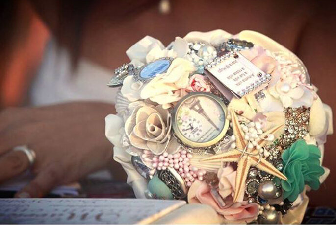 Invista num bouquet de noiva personalizado e original