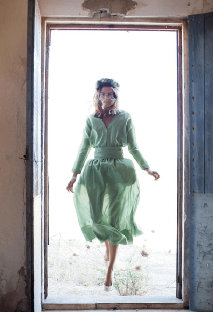 Foto: Bárbara Vidal (Vestido: Magnolia Antic)