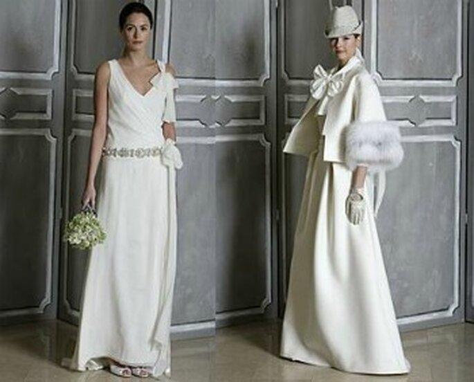 Vestidos de novia Carolina Herrera 2012