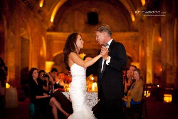 Die Braut tanzt mit dem Schwiegervater - Foto Eric Velado