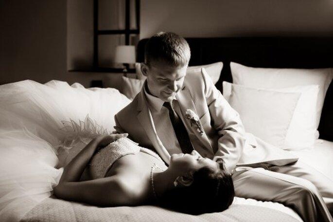 La nuit de noces permet aux amoureux de redécouvrir le corps de l'autre.