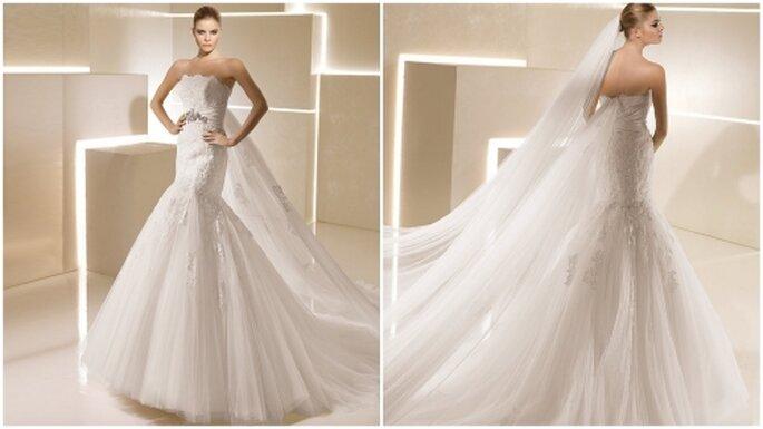 Vestido de novia corte sirena. La Sposa