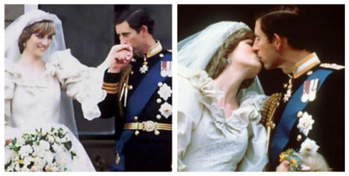 Die Küsse von Charles und Lady Di