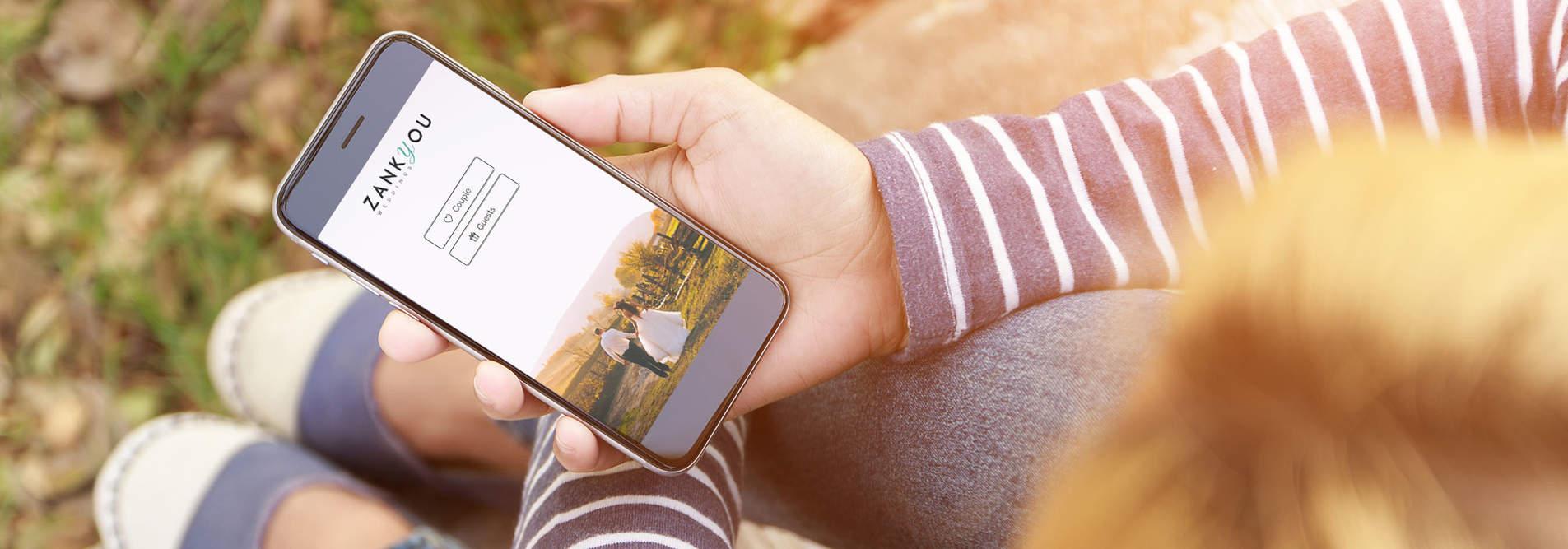 appli iphone android pour votre mariage zankyou - Liste Mariage Zankyou