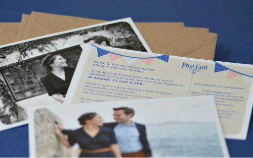 Fairepart Vintage Mariage L' Atelier d'Elsa Le Véritable Sur Mesure