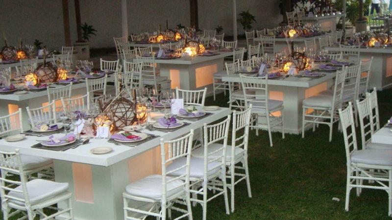 Ambientación única para tu boda - Foto Casa Colima