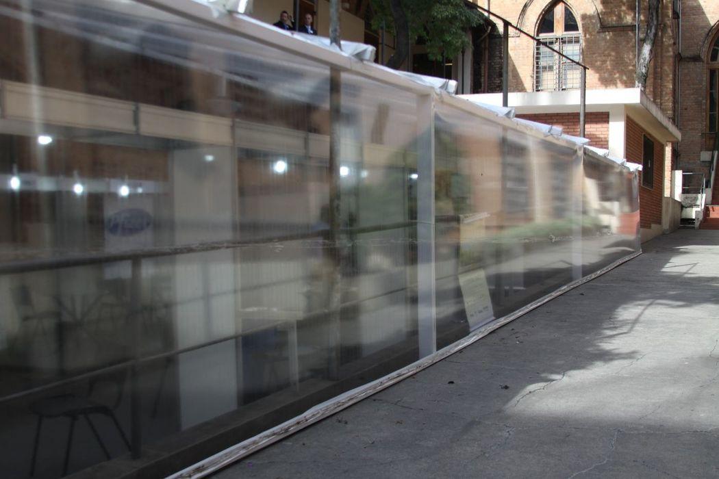 Fechamentos em cristal transparente