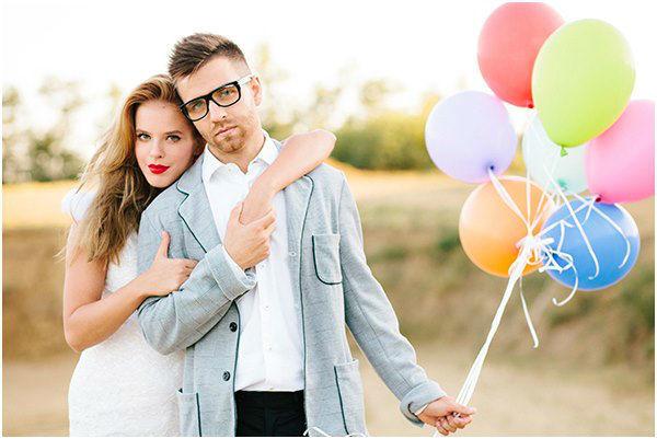 Beispiel: Brautpaar-Shooting, Foto: Bell Studio Esther & Gabe.