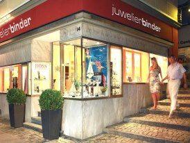 Beispiel: Ladengeschäft, Foto: Juwelier Binder.