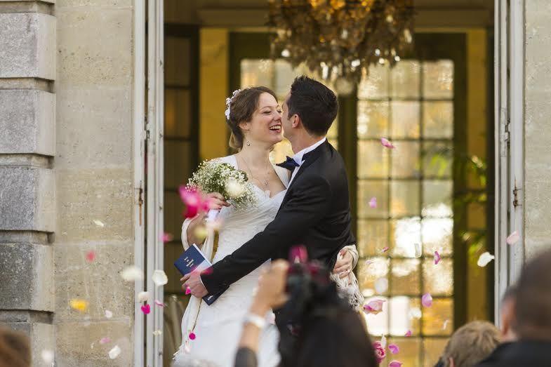 Mariage mairie de Talence parc Peixoto