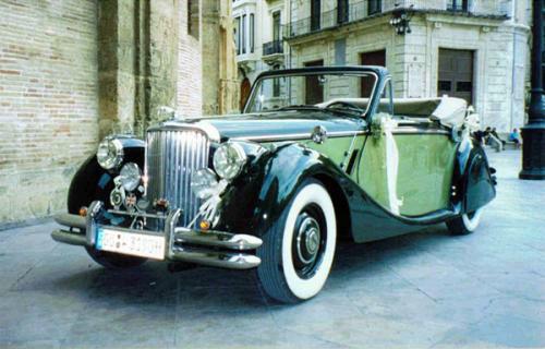 1949 Jaguar MK V Cabrio