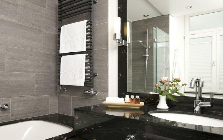 Beispiel: Badezimmer, Foto: Steigenberger Inselhotel Konstanz.