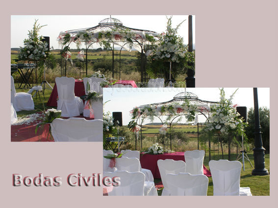 DECORACIÓNES BODAS CIVILES