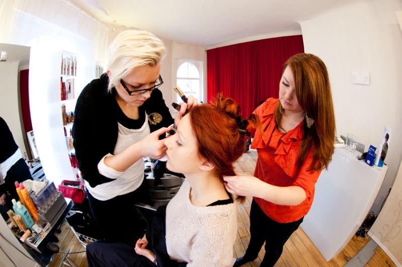 Beispiel: Augenmake-up, Foto: Kat make-up.