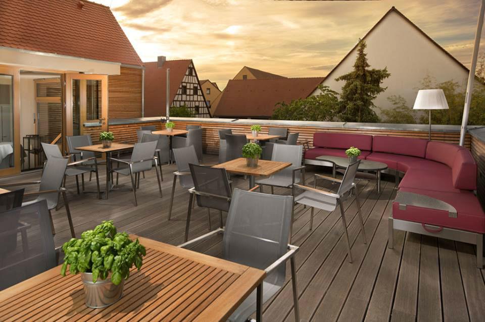Beispiel: Terrasse, Foto: Schindlerhof.