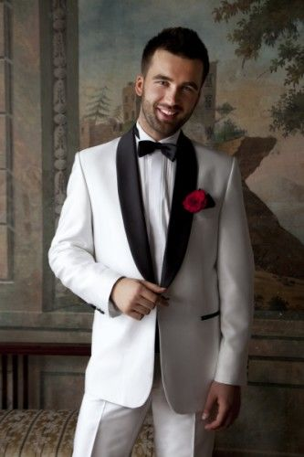 Męska moda ślubna Malibu