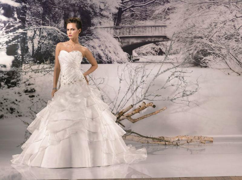 Beispiel: Brautkleider für jeden Geschmack, Foto: Brautmoden Center Stefanie.