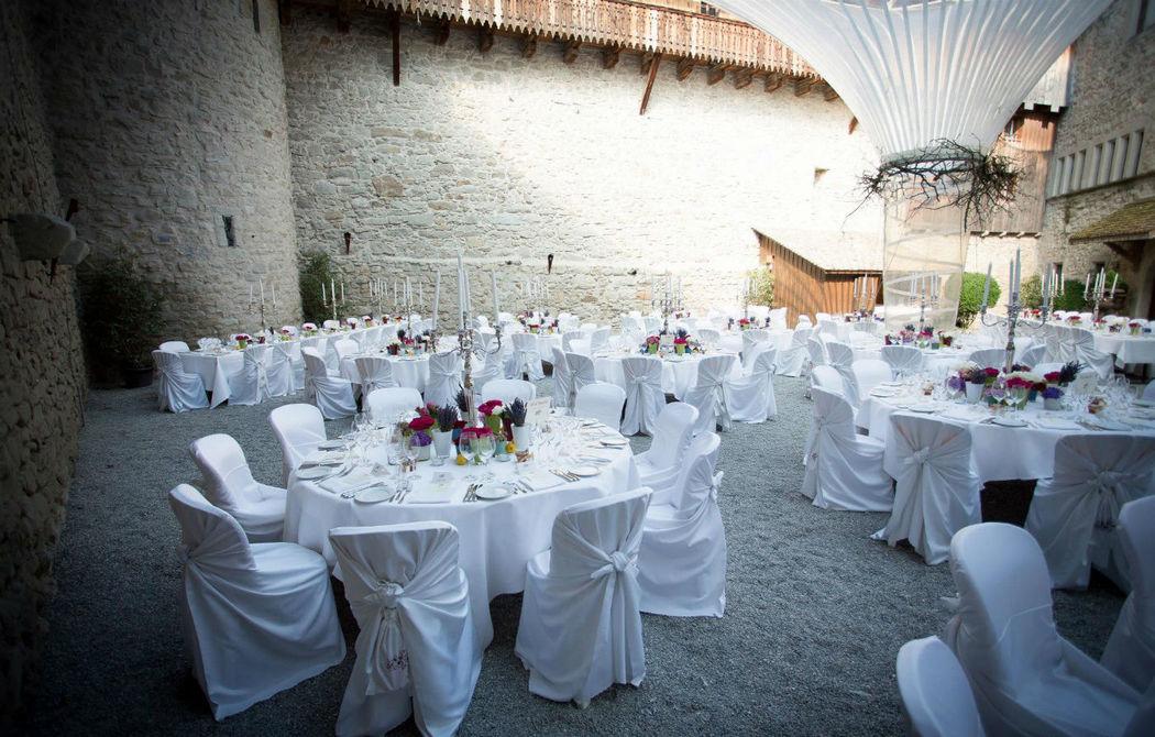Beispiel: Schlosshof, Foto: Schloss Rapperswil.