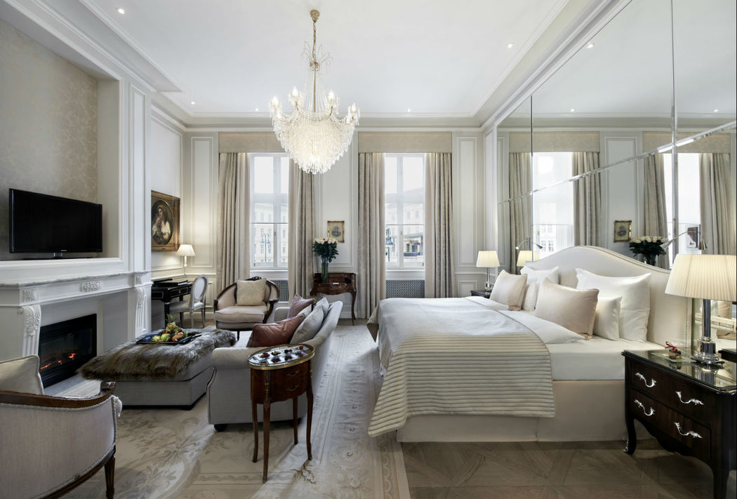 Beispiel: Deluxe Junior Suite Daphne, Foto: Hotel Sacher.