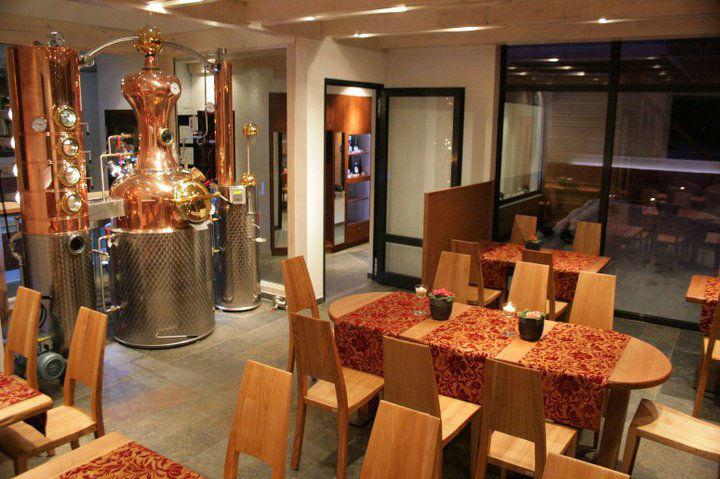 Beispiel: Destille, Foto: Landhotel Rittmeister.