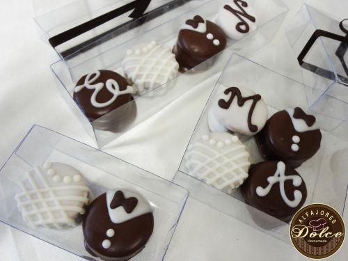 Alfajores artesanales y pastelería creativa para bodas en Monterrey, Nuevo León - Foto Dolce Alfajores