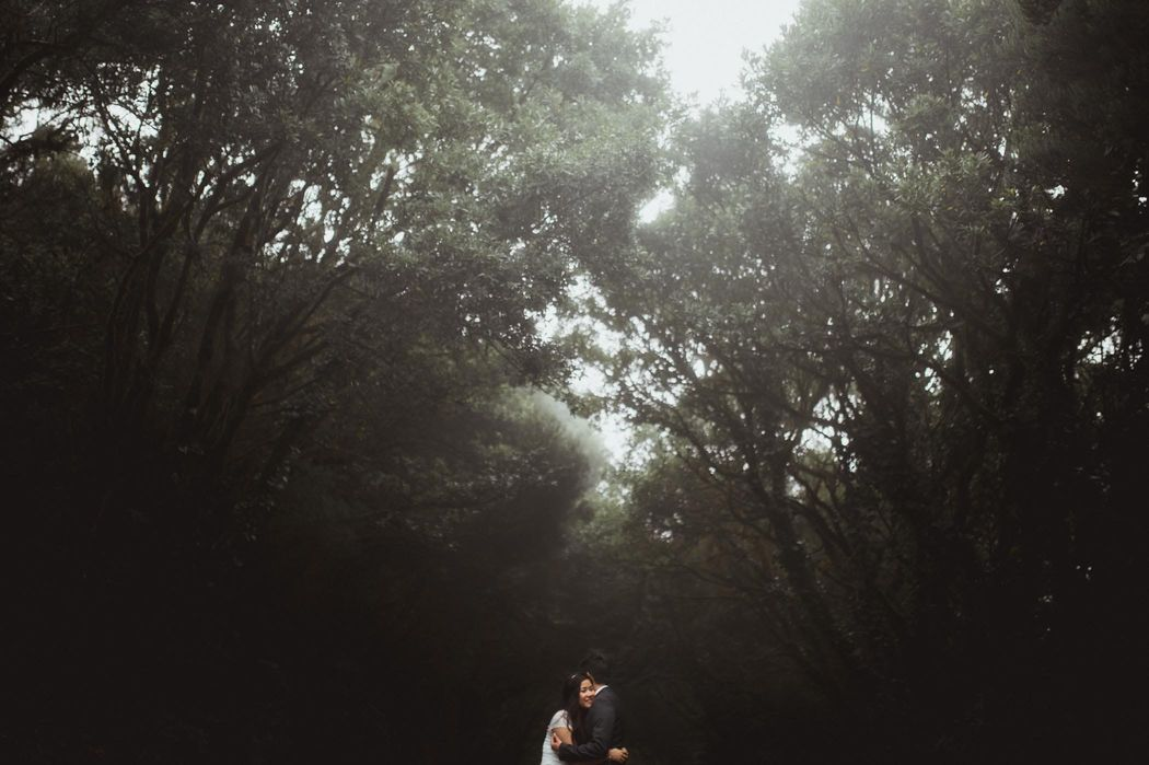 love session into the woods