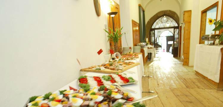 Beispiel: Buffet, Foto: Schloss Kapfenstein.