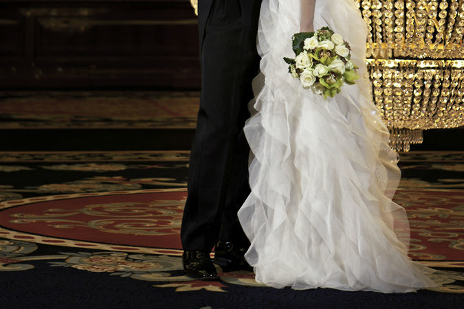 Beispiel: Wunderschöne Brautsträuße, Foto: Marsano Blumen.