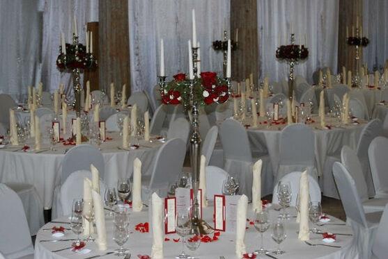 Beispiel: Tischdekoration, Foto: manufactura florale.