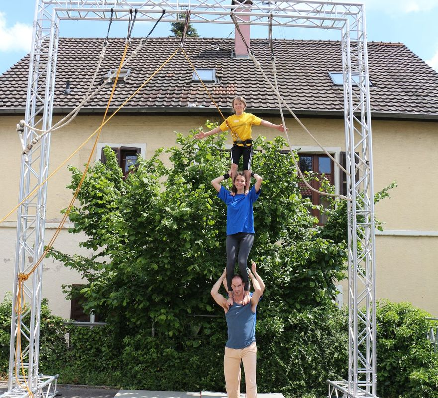 Professionelle Akrobatik