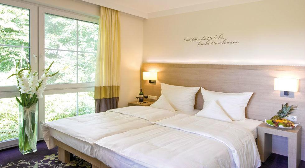 Beispiel: Doppelzimmer, Foto: Hotel Robben.