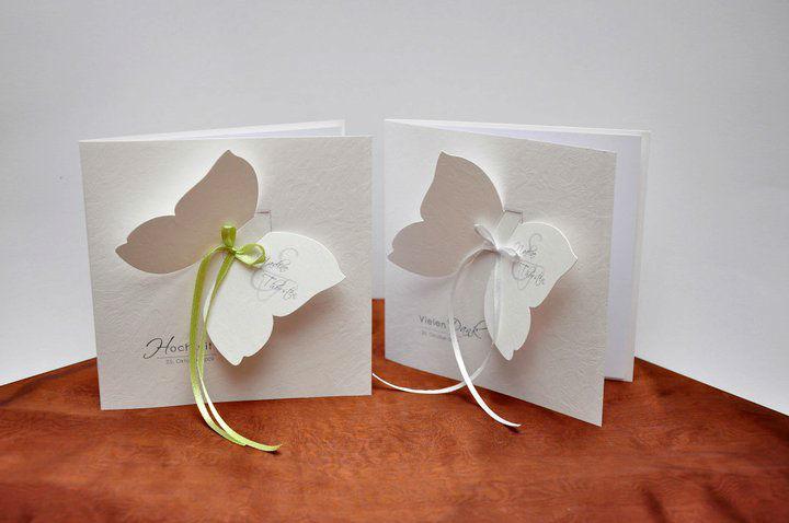 Beispiel: Dankeskarten, Foto: BBFT-Atelier Manufaktur.