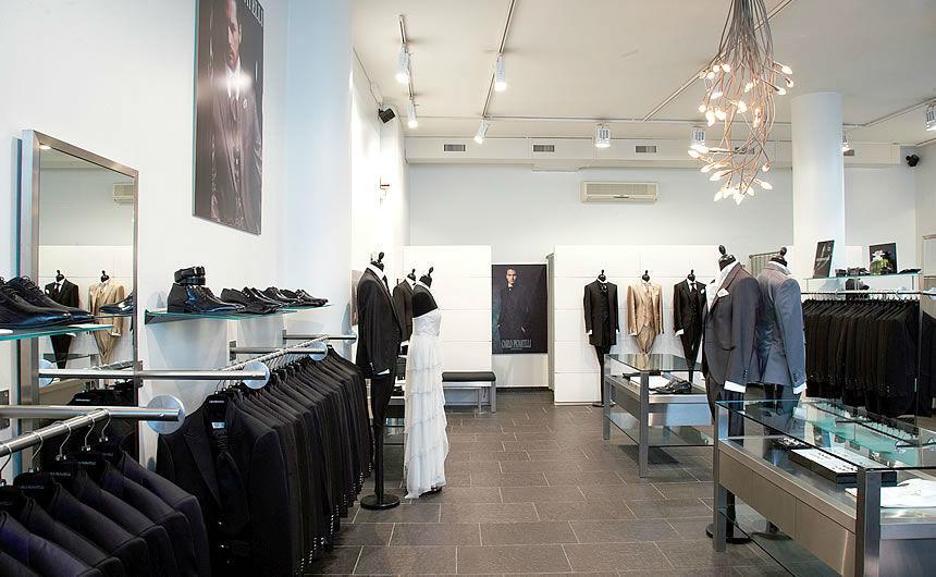 Beispiel: Impressionen aus dem Ladengeschäft, Foto: Zoro Uomo.