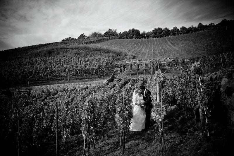 Beispiel: Traumbilder in Schwarz-Weiß, Foto: Romeoplusjuliet Photography.