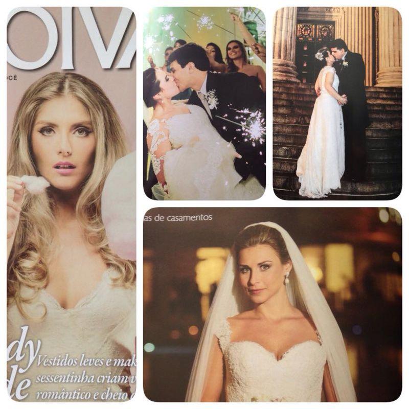 3 Casamentos publicados na última edição de 2014 da Revista Noivas RJ