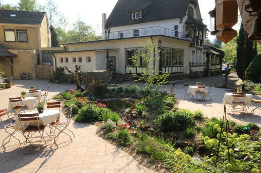 Beispiel: Blick auf das Haupthaus, Foto: Dammenmühle.