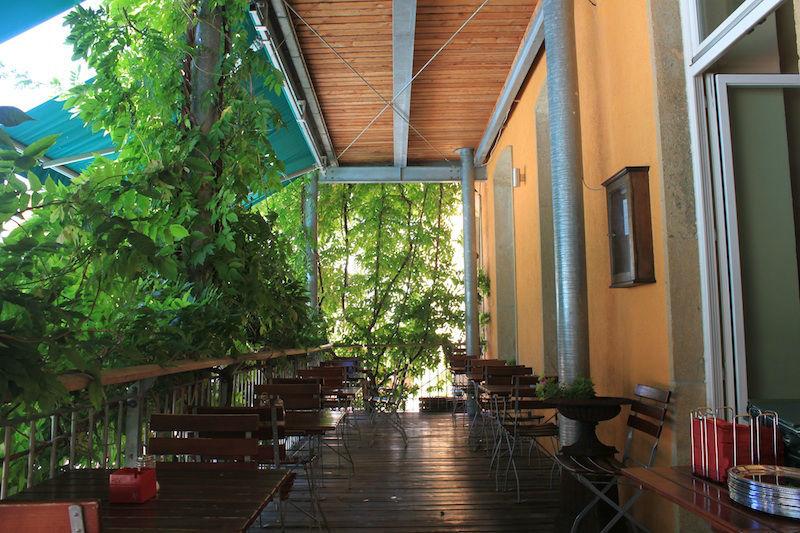 Beispiel: Veranda, Foto: Restaurant Süden.