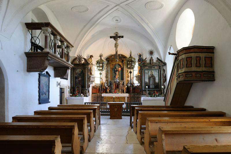 Beispiel: Kapelle, Foto: Erlebnisburg Hohenwerfen.