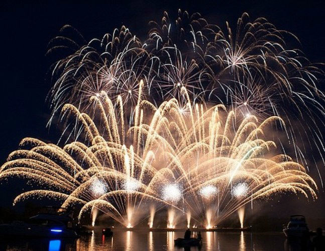 Beispiel: Feuerwerk, Foto: Juketec.