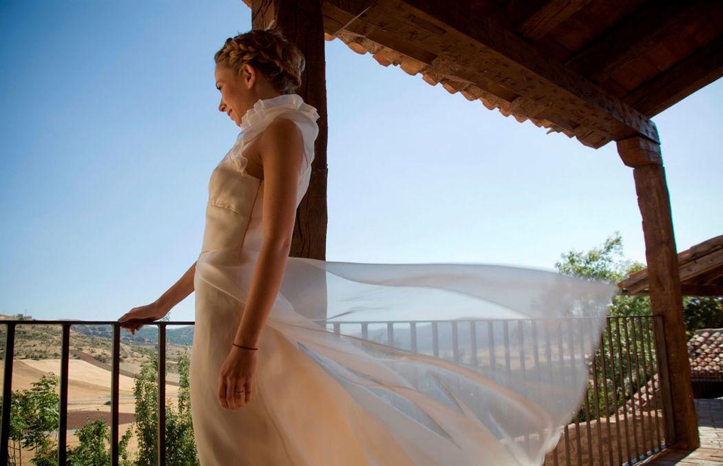 Una boda en un espacio bucólico y romantico