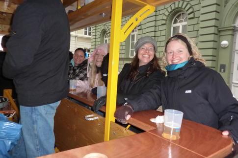 Beispiel: Stimmung auf dem BierBike, Foto: BierBike Regensburg.