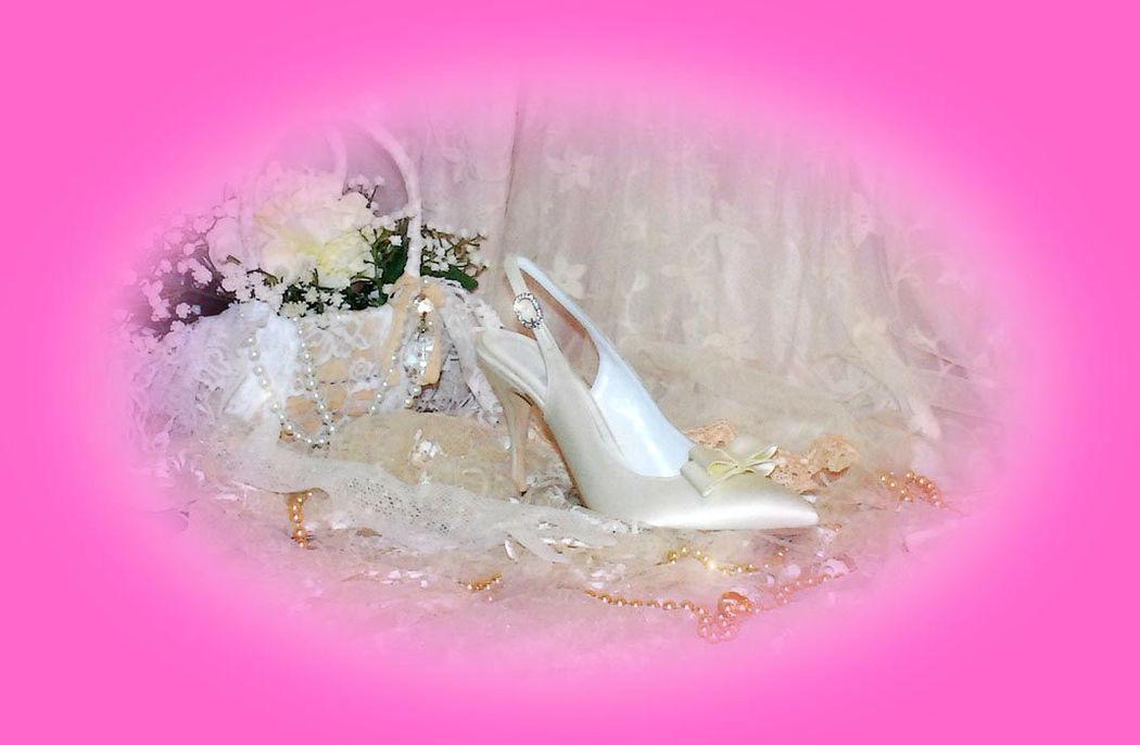 Sandalo chanell sposa.