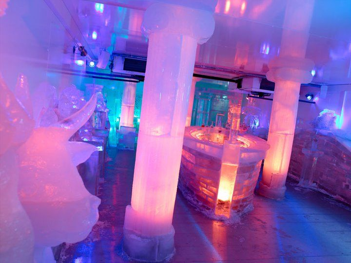 Beispiel: Ice-Bar, Foto: IndoChine waterfront + restaurant.