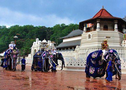 Temple de Kandy - Sri Lanka
