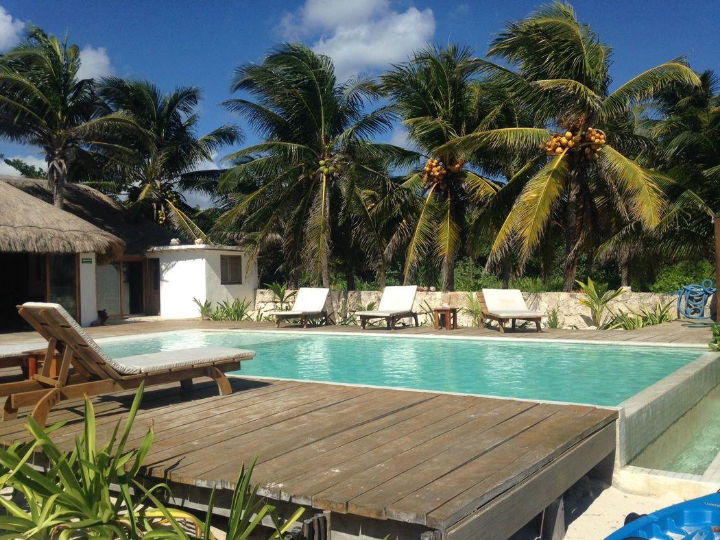 Hospedaje privado con alberca y playa, el lugar ideal para celebrar su ceremonia y recepción, ¡Sin restricciones y total privacidad!