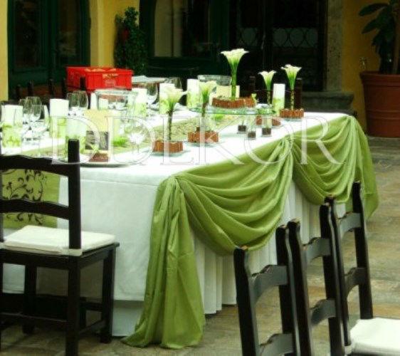 Beispiel: Hochzeitsdekoration, Foto: DDEKOR.