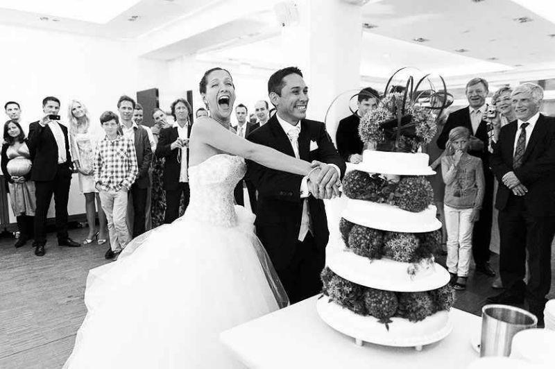 Beispiel: Fotos von der Hochzeitsfeier, Foto: Avantgarde Wedding Photographers.