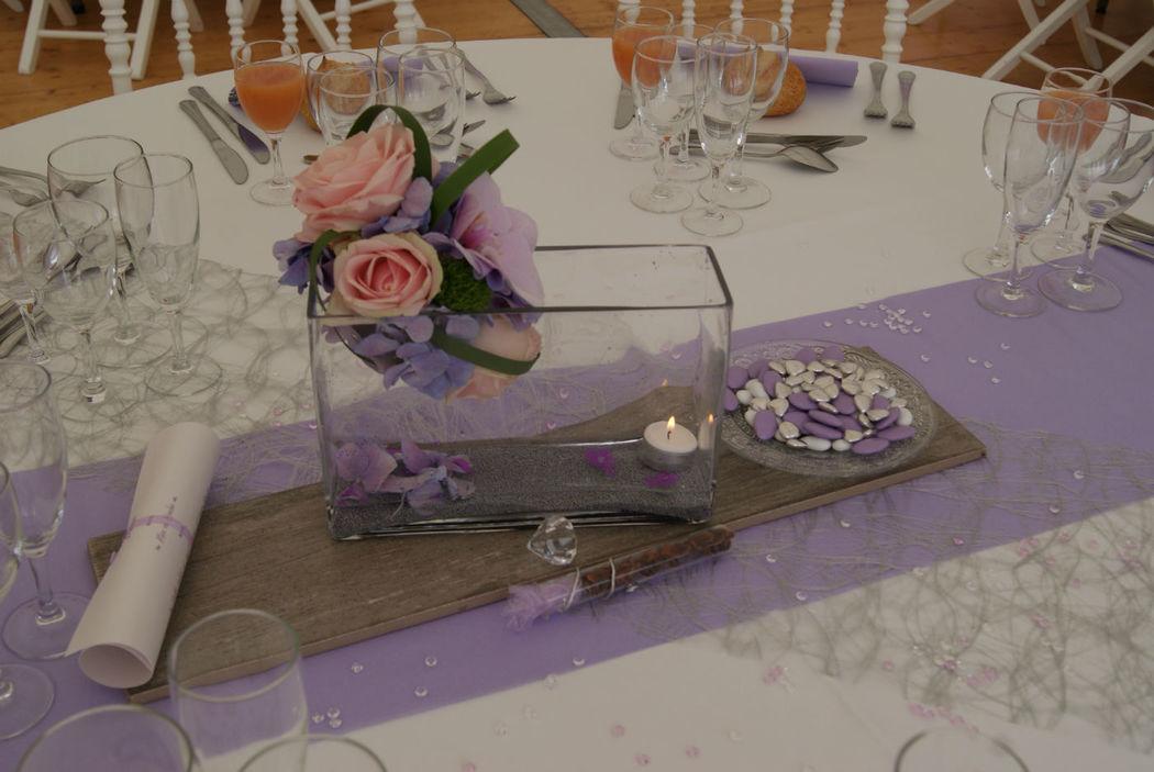 Décoration de table par Event-Evenements