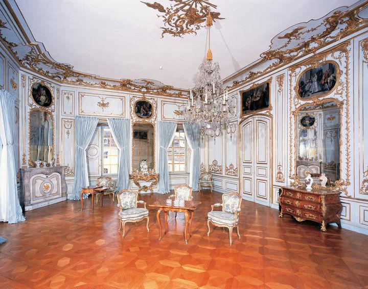 Beispiel: Zweite Vorzimmer, Foto: Schloss Ludwigsburg.
