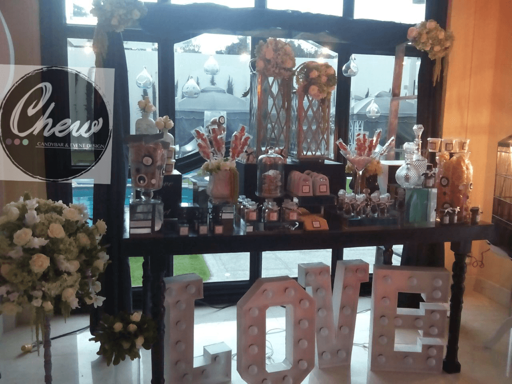 Chew Candy Bar and Event Design
